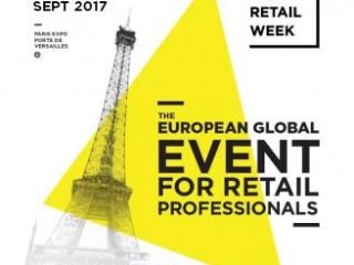 Participation au salon Paris Retail Week